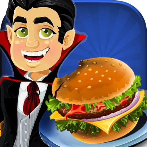 Dracula Ham-burger Spooky Cafe : Master-Chef monster Fast Food Restaurant iOS App