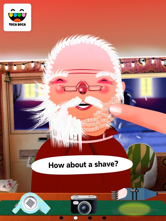 Screenshot #2 for Toca Hair Salon - Christmas Gift