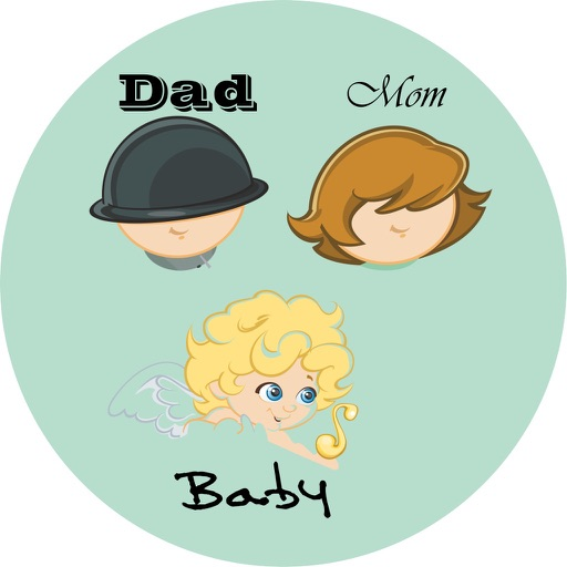 Mom Dad Baby TTT iOS App