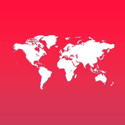 世界地图演示稿
