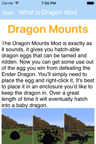 Dragons Mod for Minecraft PC - Ender Dragon with Game Of Thrones Edition Skins screenshot 1