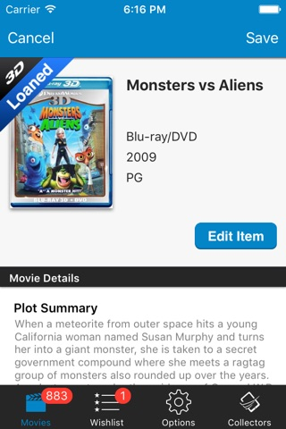 Movie Collector Database Pro screenshot 3