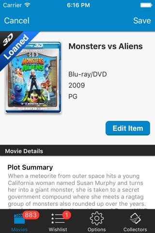 Movie Collector Database Pro screenshot 3