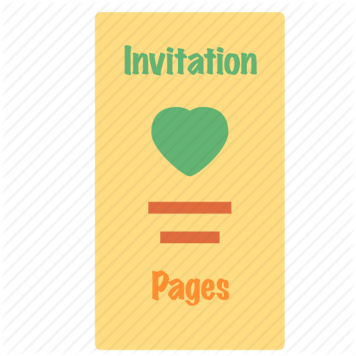Invitation and Card for Pages - Templates Design by Liu