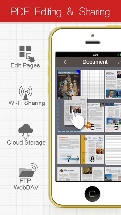 Acrobat mobile app PDF reader for iPad iPhone Android