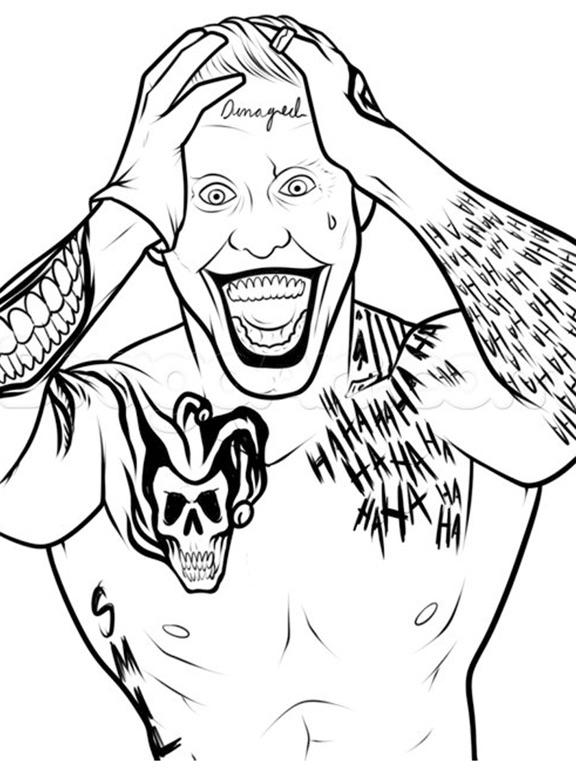 Coloring Pages For Suicide Squad Edition on the App Store