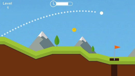 Simply Golf - Put the ball into the hole Screenshot