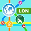 London City Maps - Discover LON with Underground, Bus, and Travel Guides Apps für iPhone / iPad