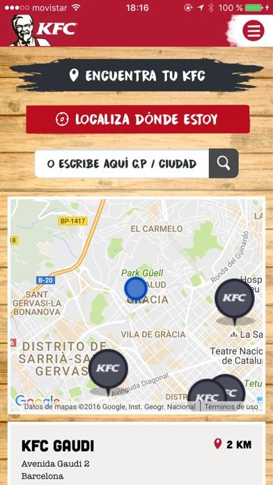 download KFC España - ofertas cerca de ti apps 4