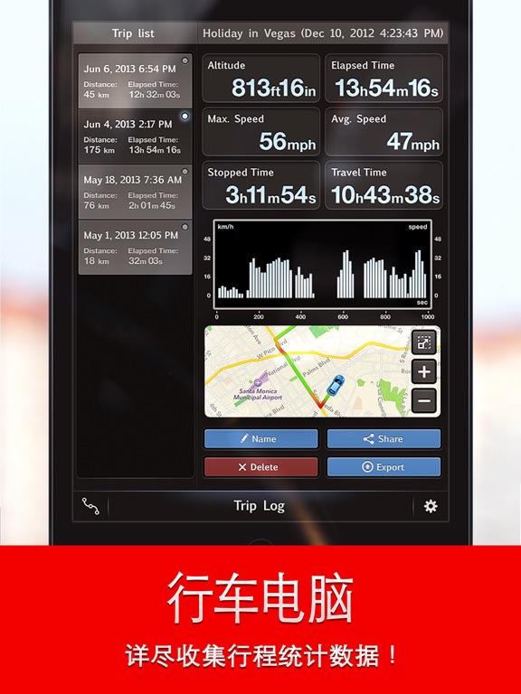 Speed Tracker Free截图2