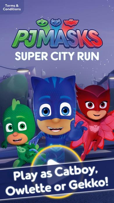 PJ Masks: Super City Run app