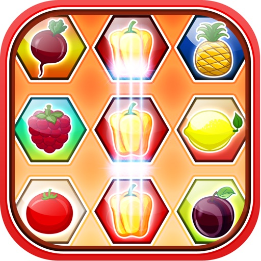 Juicy Fruity Match Farm - A Fun Barn Puzzle Game for Kids iOS App