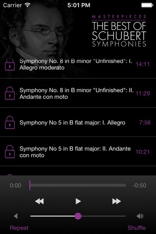 Schubert: Symphonies screenshot 3
