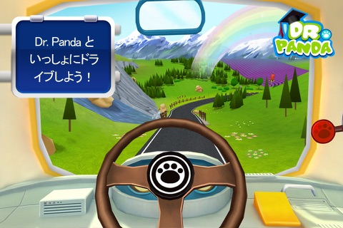 Dr. Panda Bus Driver screenshot 2