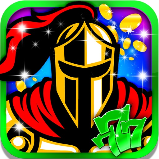 Kingdom Knight's Destiny Slot: Win casino coins and big riches iOS App