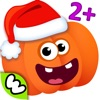 FUNNY FOOD! Learning Games For Kids Toddlers FREE