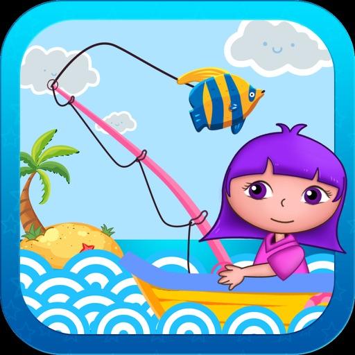 儿童全民钓鱼发烧友2破解版-小朋友玩的益智单机游戏免费2-5岁