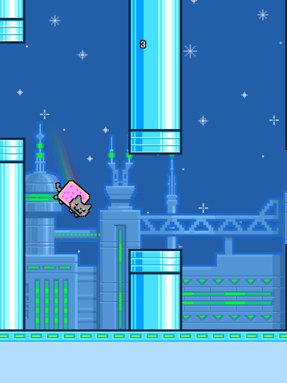 Screenshots of Flappy Nyan for iPad