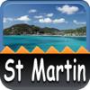 St Martin/Sint Maarten Offline Map Travel Guide