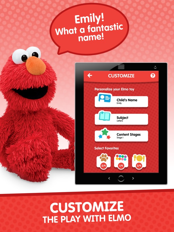 Program Elmo Phone Knows Your Name