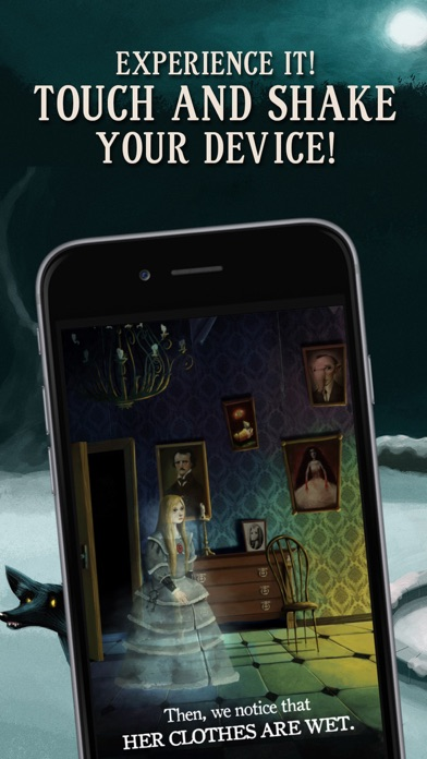 Screenshot #7 for Charles Dickens: Ghost Stories. The immersive book