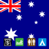 Leisuremap Australia, Camping, Golf, Swimming, Car parks, and more