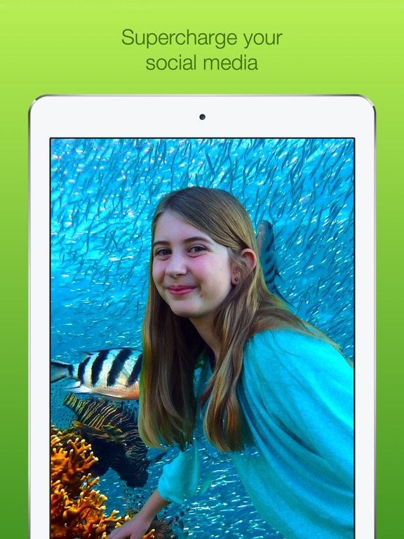 how to use green screen app on ipad