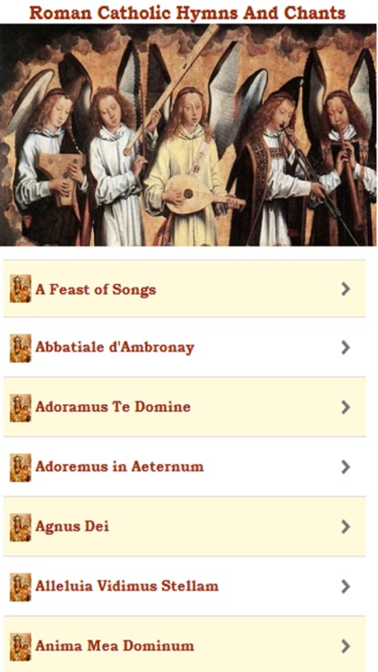 Roman Catholic Hymns and Chants by Ravi N