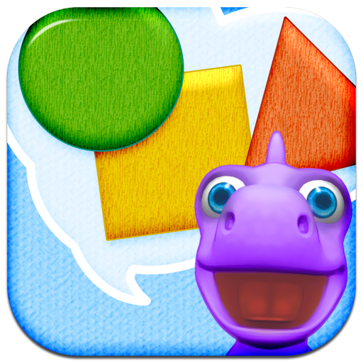 Shapes with Dally Dino - Preschool Kids Learn with A Fun Dinosaur