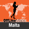 Malta Offline Map and Travel Trip Guide