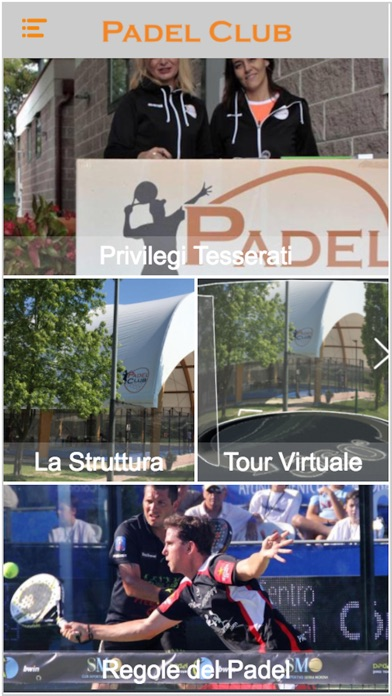 Screenshot of Padel Club1