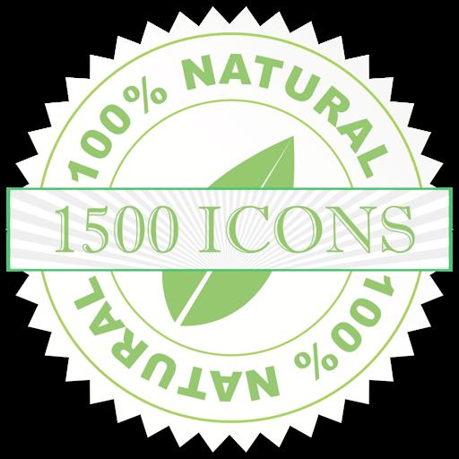 1500 Icons