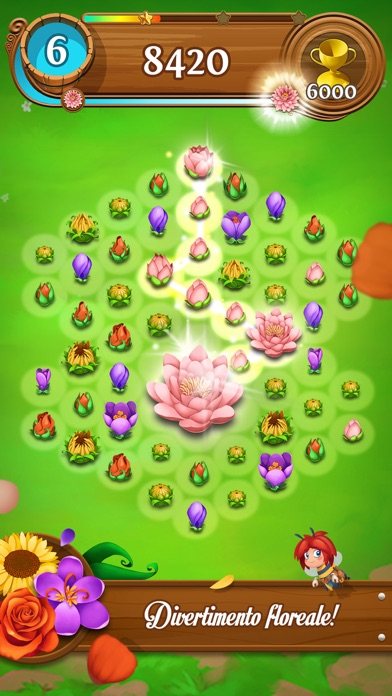 Screenshot of Blossom Blast Saga2