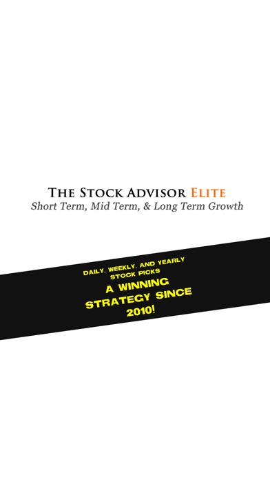 The Stock Advisor Elite review screenshots