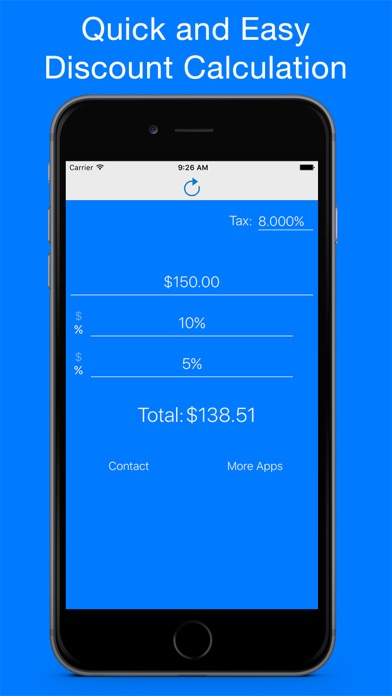 discount calculator sale price percentage finder on the app store