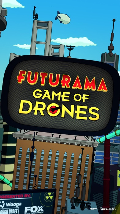 Futurama: Game of Drones Screenshot