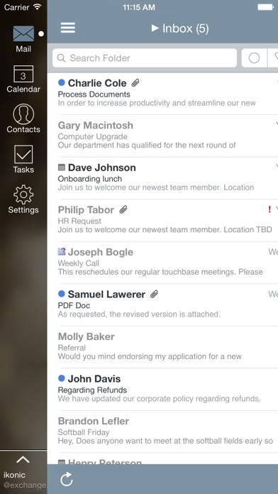 Mail+ for Outlook Screenshot