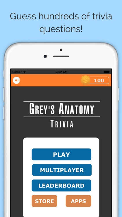 Trivia For Greys Anatomy Tv Show Free Multiplayer Quiz Edition By