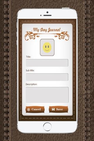MyDay Journal screenshot 4