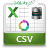 Sqlite Database Editor and Excel .Csv Editor with XLS/XLSX/XML to CSV File Converter