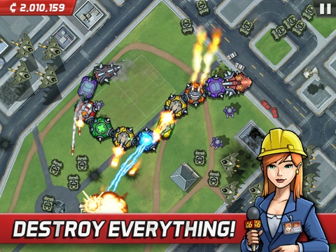 Screenshot #2 for Colossatron: Massive World Threat
