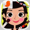World's girls fashion -Game of dress-up ethnic costumes and make-up for girls