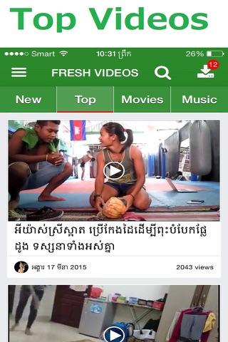 Fresh Videos screenshot 3