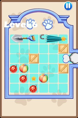 Naughty Husky-A puzzle sport game screenshot 2