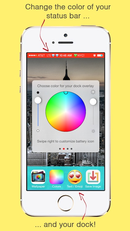 Chromagic Home And Lock Screen Wallpapers With Emoticons And