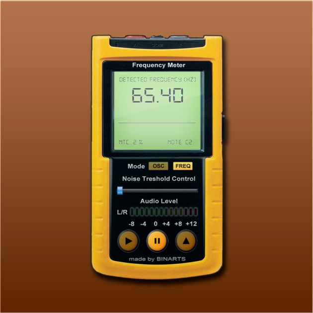 Sound Frequency Meter : Frequency meter pro professional tool scans