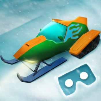 VR Sleigh Simulator - Cardboard for iPhone
