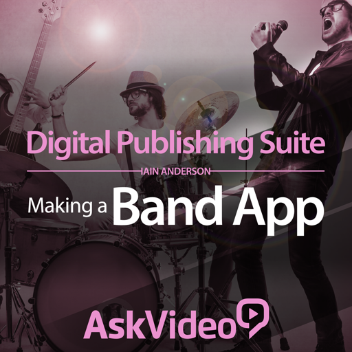 Making a Band App For Digital Publishing Suite