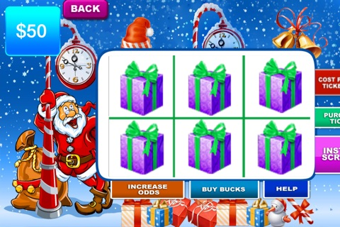 Christmas Lotto Scratch - Santa background and fun themes to play screenshot 3