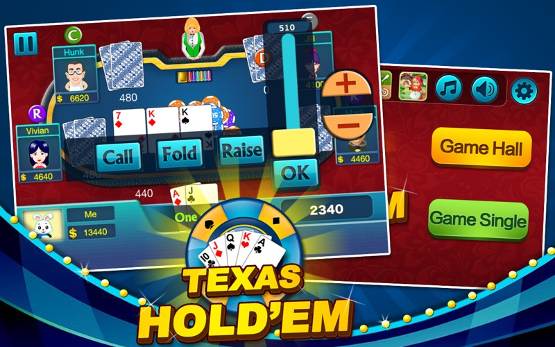 Screenshot #4 for Texas Hold'em - Daily Poke it!